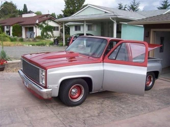 1983 Chevrolet C10 Pickup Truck Chevy Trucks Pickup Trucks Pickup Trucks For Sale