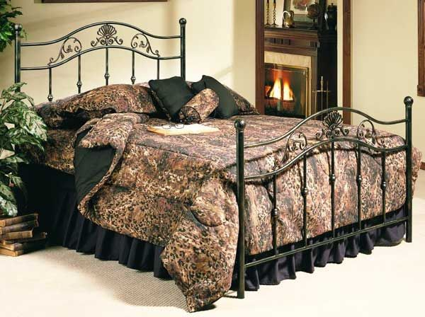 Madison Queen Metal Bed 906 Qbed Wrought Iron Furniture Iron Furniture Furniture