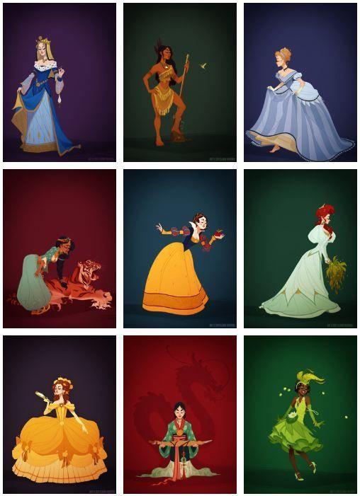Historically accurate princesses. GENIUS!