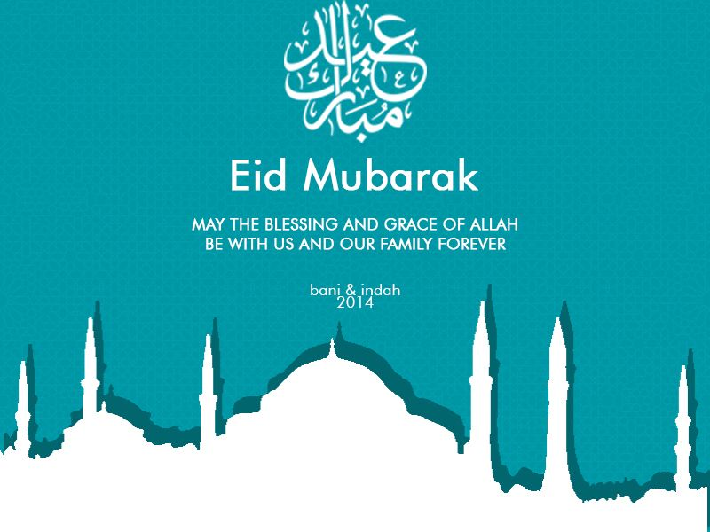 Happy Ied Mubarak. May Grace and Bless of Allah be with us forever