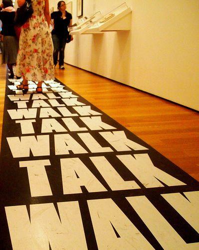Talk Walk MOMA NYC