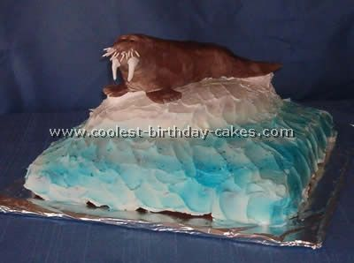 Coolest Walrus Cake Ideas and Photos | Dolphin cakes, Cool ...