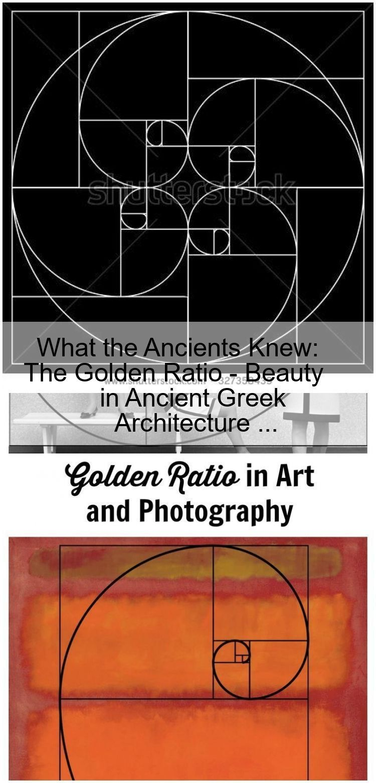 What The Ancients Knew The Golden Ratio Beauty In Ancient Greek Architecture What The An Ancient Greek Architecture Ancient Greek Sacred Architecture