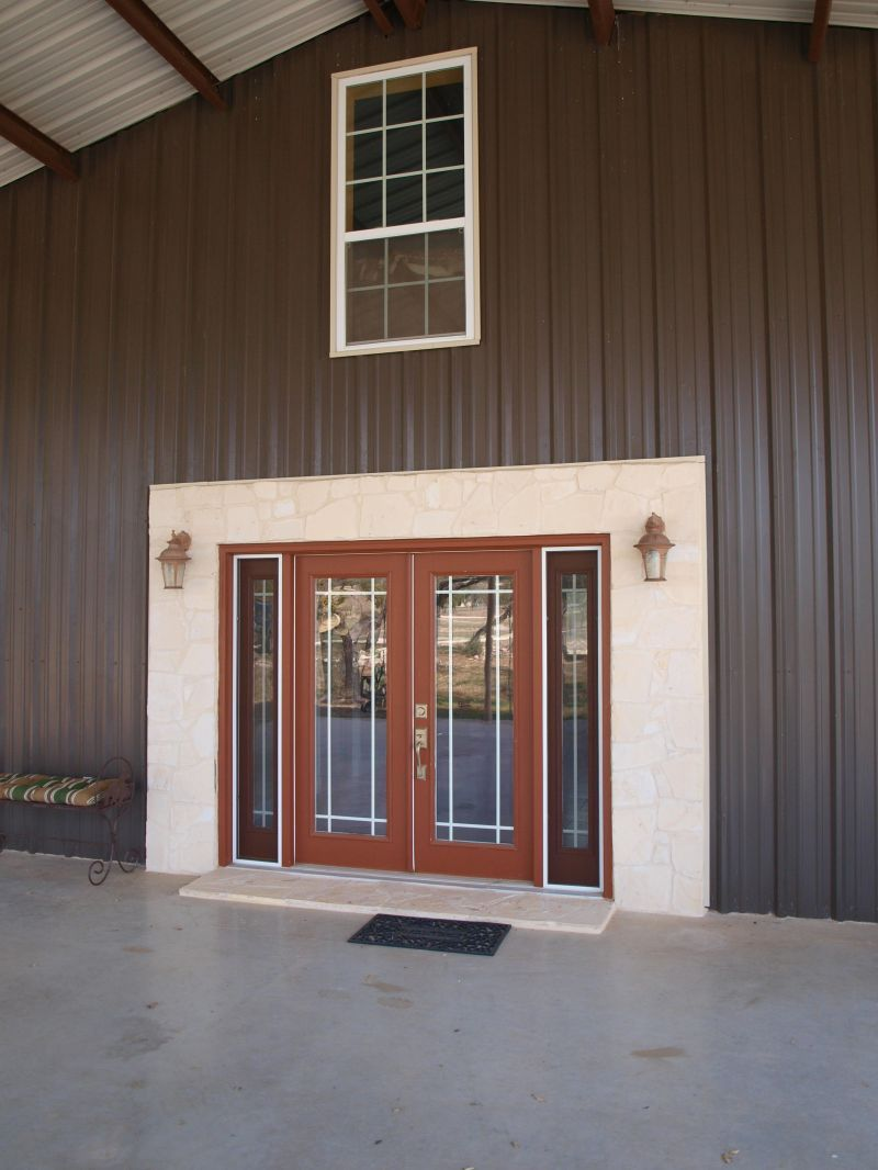 Barndominium Ideas Two Story Metal Building Homes House Floor Plans Pole Barn