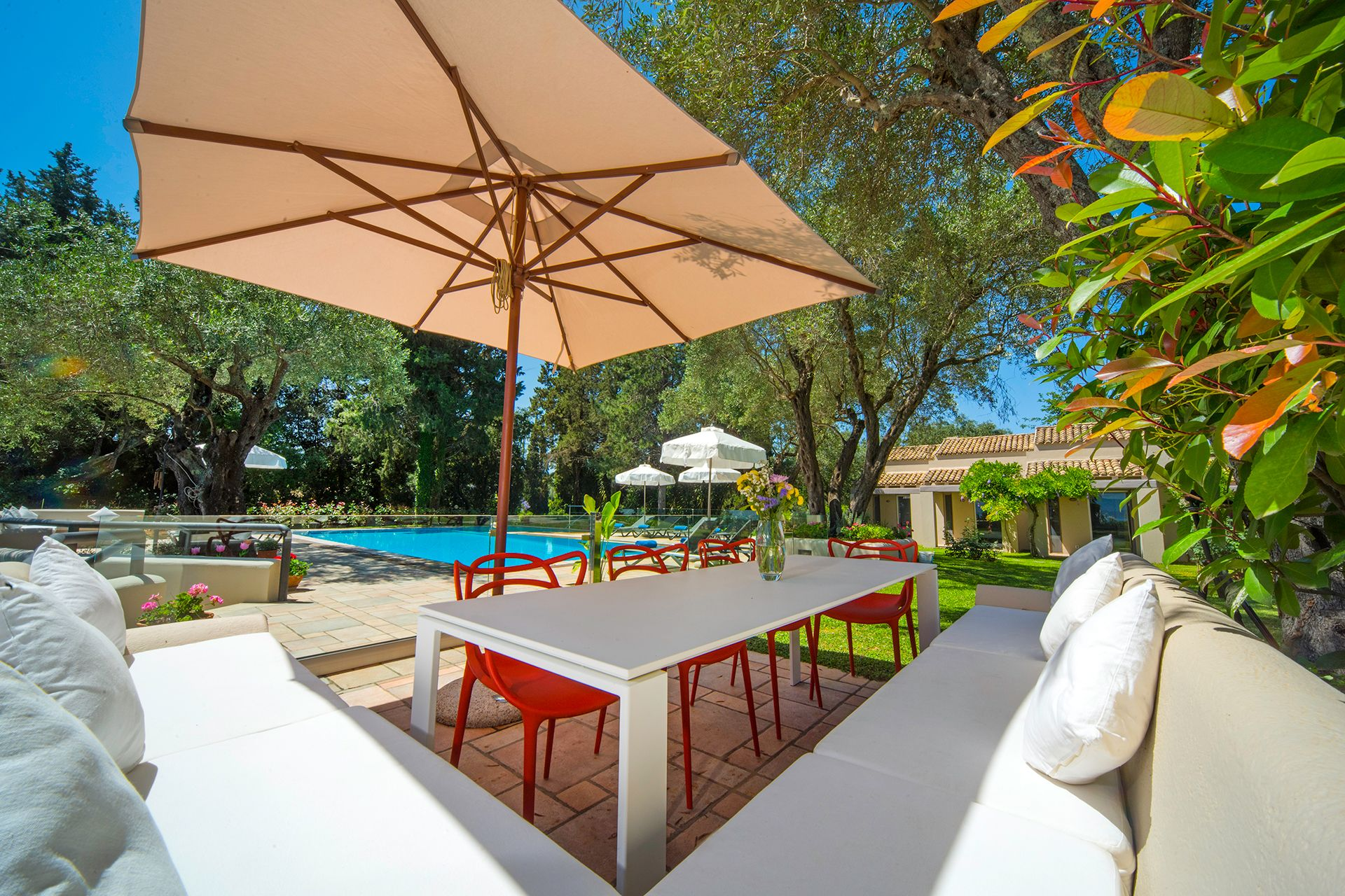 Villa Yasemia, Avleki, Corfu. Luxury Villas With Pools