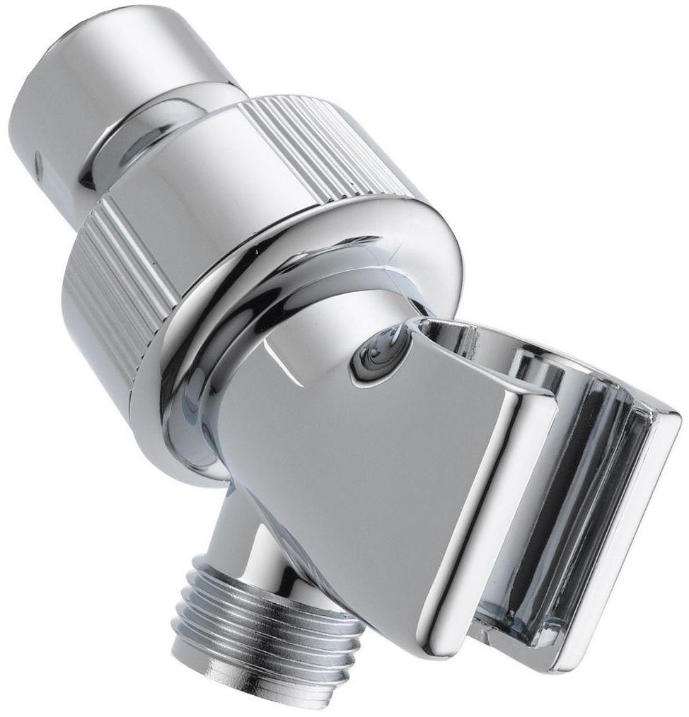 Delta U3401 Pk Adjustable Shower Arm Mount Chrome Adjustable