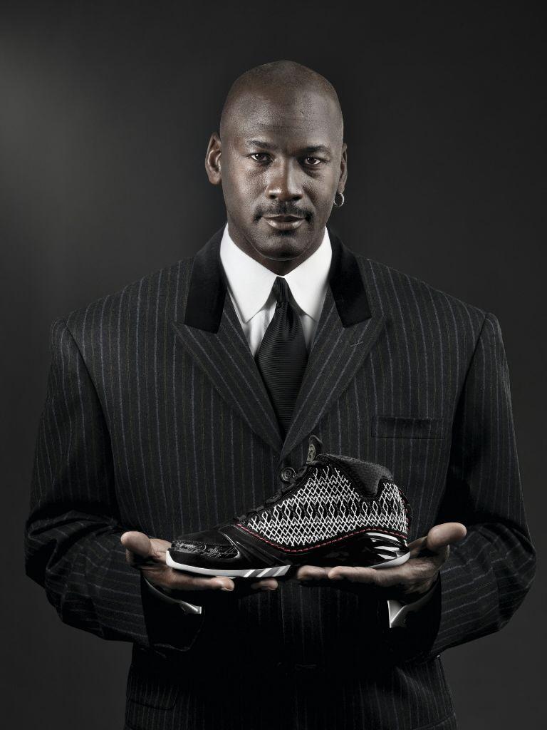 michael jordan and shoes