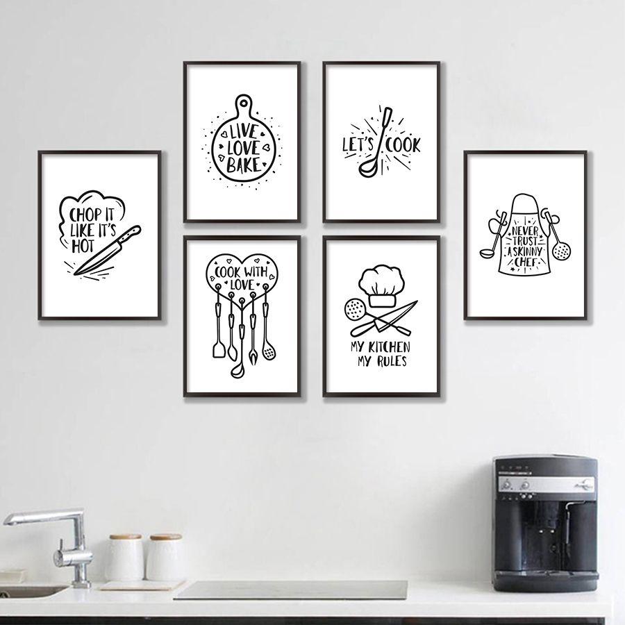 Black And White Artwork For Dining Room