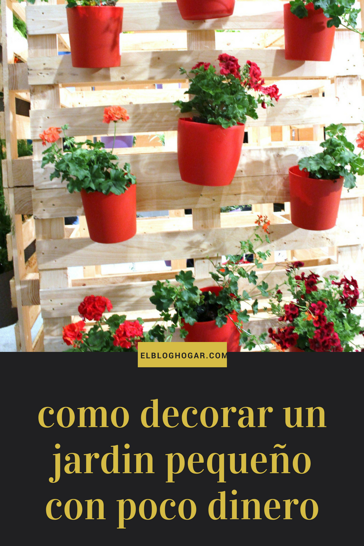 Como Decorar Un Jardin Pequeno Con Poco Dinero Como Decorar Un Jardin Pequeno 60 Ideas Super Creativas Aprende Como Planter Pots Planters Table Decorations