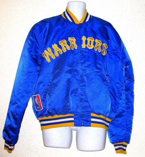California Love Golden State Warriors Vintage Starter Jacket Jackets Golden State Warriors Golden State