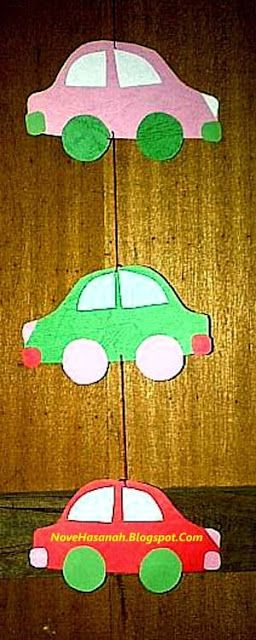 Nove Hasanah Cara Membuat Hiasan Dekoratif Gantung Mobil