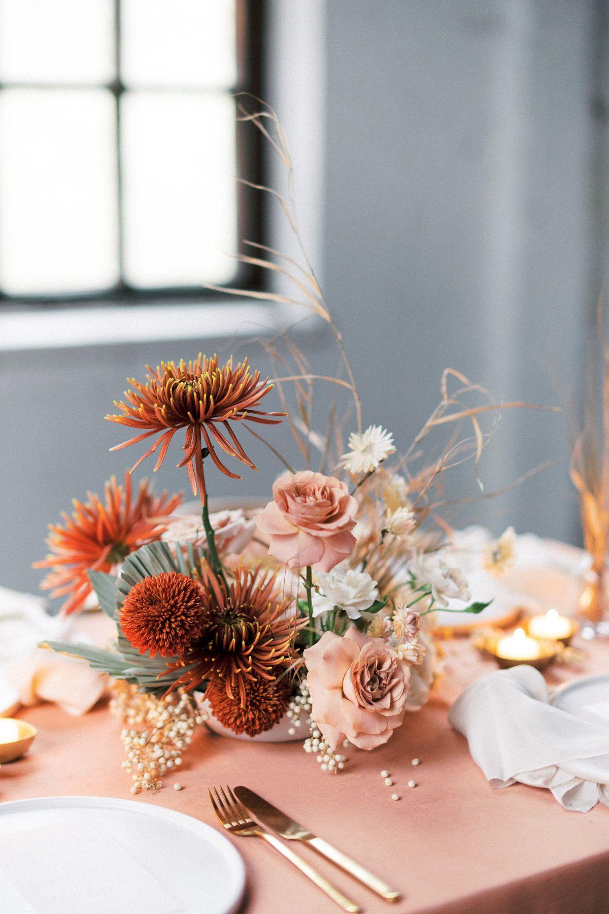 Contemporary Coral Wedding Inspiration at Black Ha