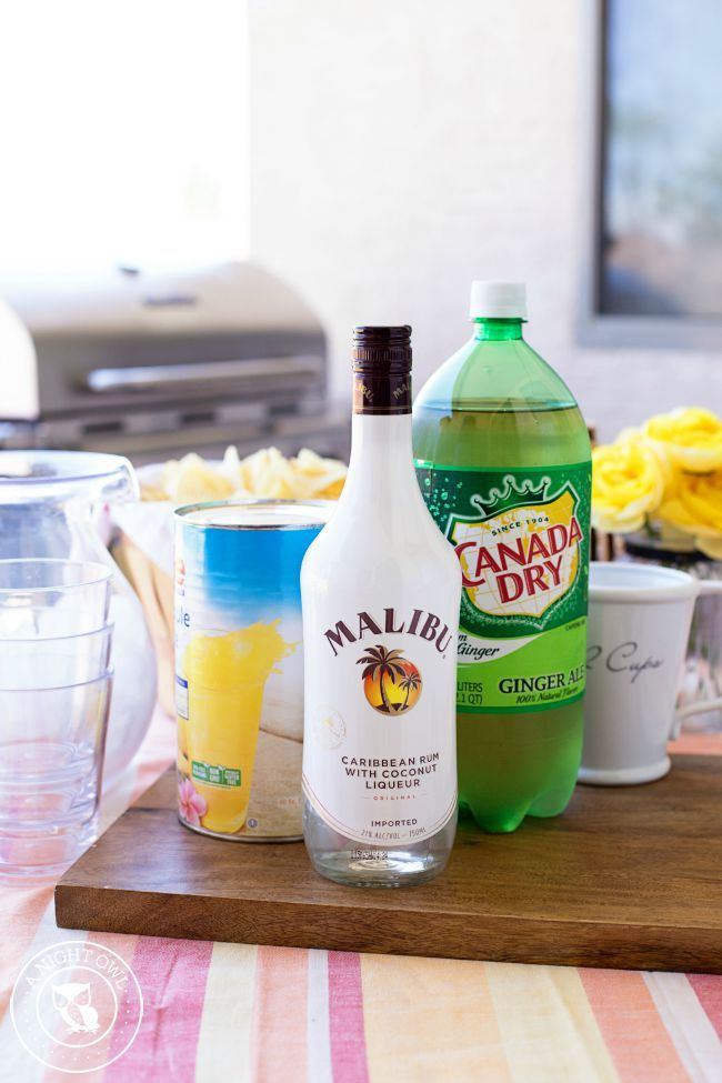 Pineapple Rum Punch A Night Owl Blog Recipe Rum Drinks Recipes Pineapple Rum Malibu Rum Drinks