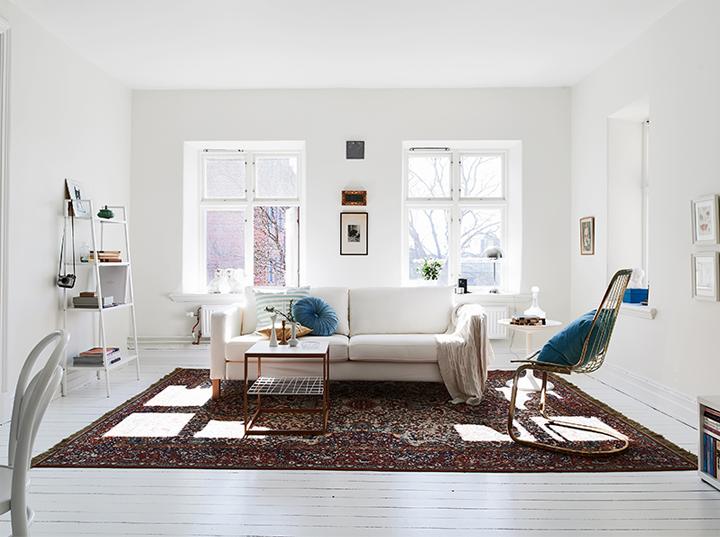 Working Whites Lightfilled Swedish Interior Scandinavian Design Living Room Living Room Scandinavian Living Room Designs