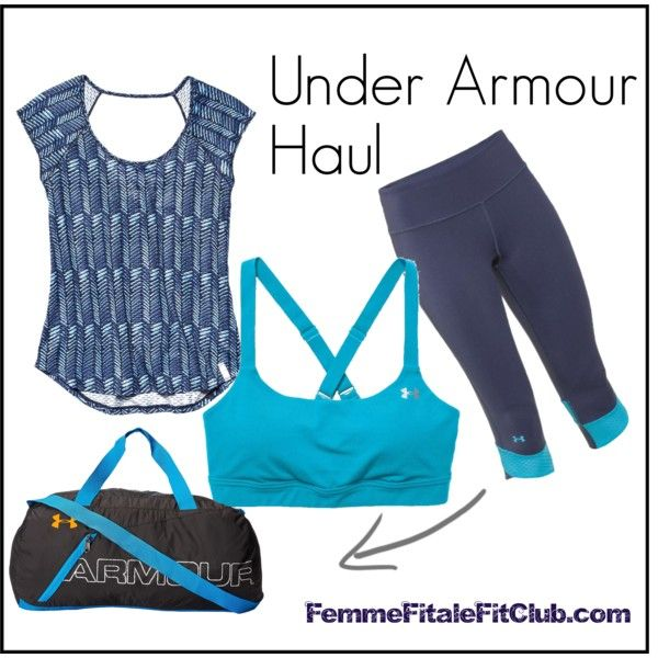 Under Armour Haul Blue by diatta-harris on Polyvore featuring Under Armour