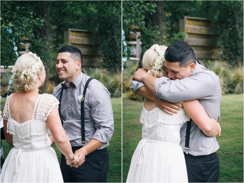 Nikki and Kiha, Tekapo Wedding laurengibsonphotographer.com #justmarried #tekapowedding #newzealand #mrandmrs