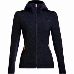 Photo of Salewa Fanes Hybrid Wo W Jacket Damen Woll-Jacke blau 40 Salewa