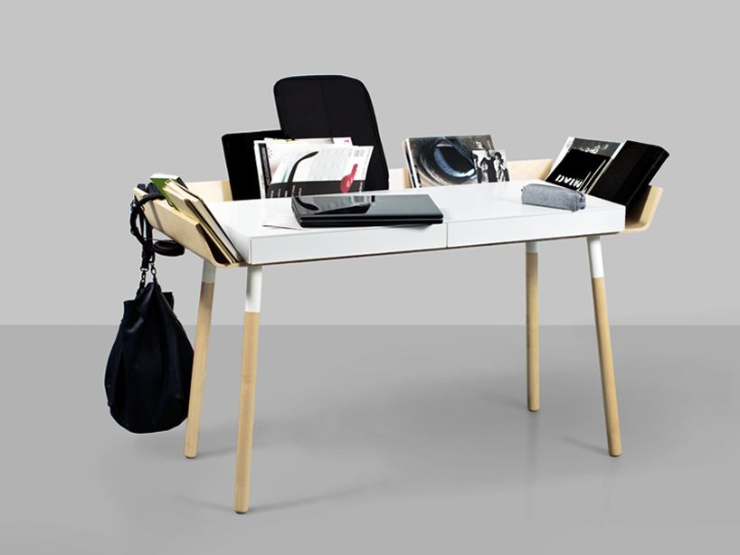 inesa malafej: my writing desk - designboom   architecture