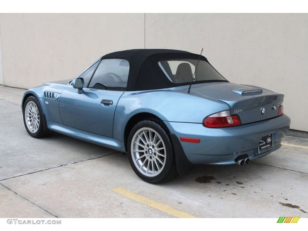 2002 Atlanta Blue Metallic Bmw Z3 3 0i Roadster 56013783 Photo