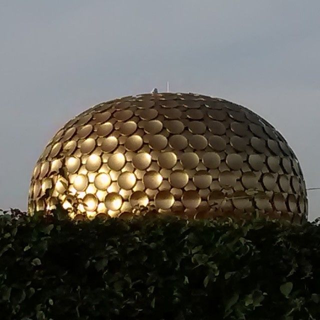 #Auroville #Matrimandir #Pondy Image By NandanHs http://goo.gl/PkJxSX  Use #MyPYpic to have your pics featured by us