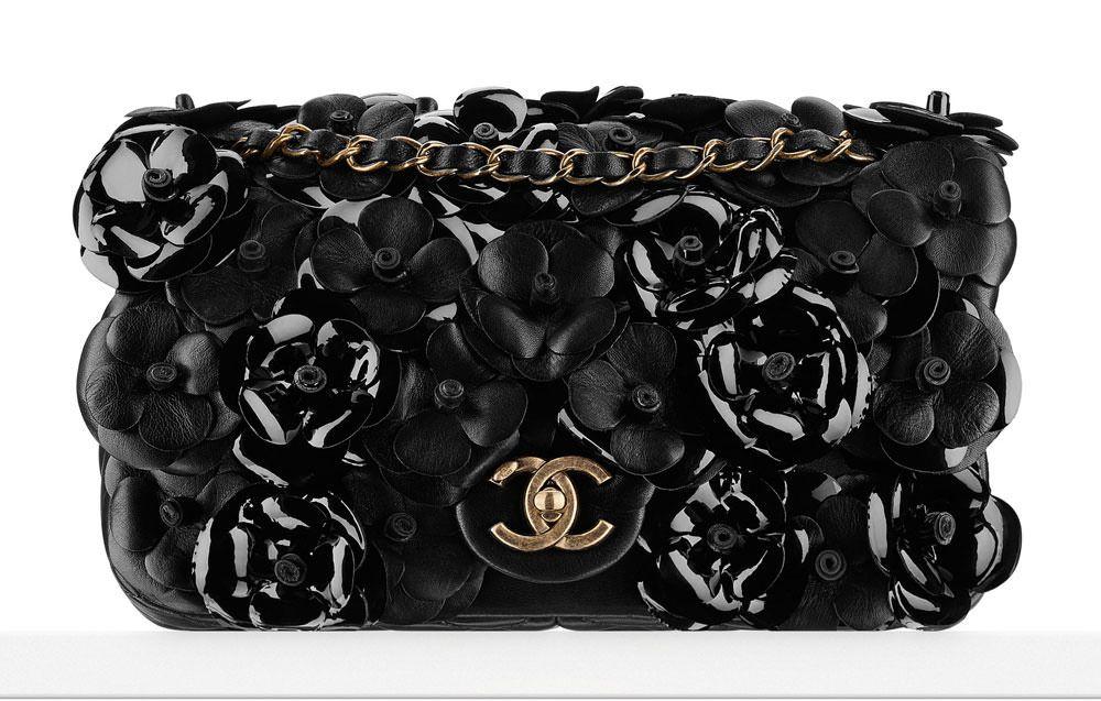 b89a438ea Chanel's Pre-Spring 2015 Bags    Chanel Camellia Flap Bag ...