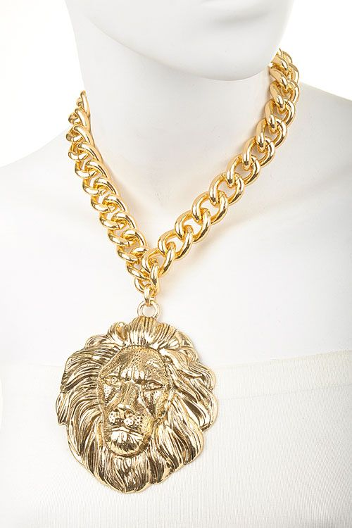 Lion Head Hip Hop Necklace WHOLESALE JEWELRY wholesale fashion accessories  Mothers Love Free Information on how 9833cc3869ac