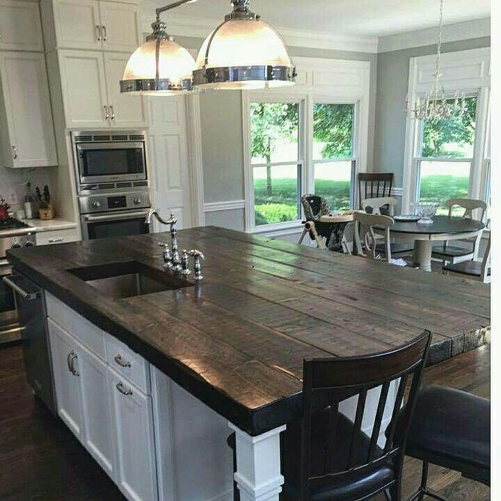 Island With Seating Wooden Top Wooden Island Kitchen Kitchen Island With Sink Timber Kitchen