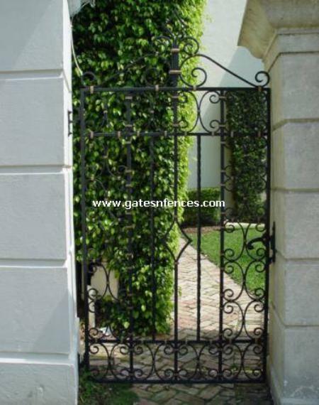 Merveilleux Garden Gates Walk Thru Gates Wrought Iron Or Aluminum Garden Pedestrian  Gates