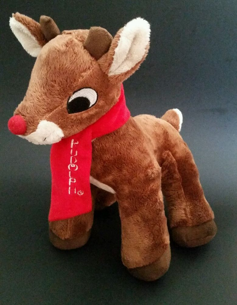4b2336dd8a DanDee Rudolph The Red Nosed Reindeer Collector s Choice Stuffed Plush Toy  12