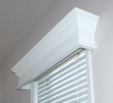 Pleasanton Custom Wood Window Cornice Window Cornices