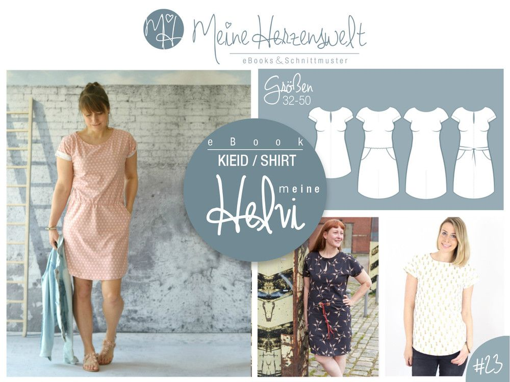 Plus Size Schnittmuster Kleid | Schnittmuster für große Größen ...