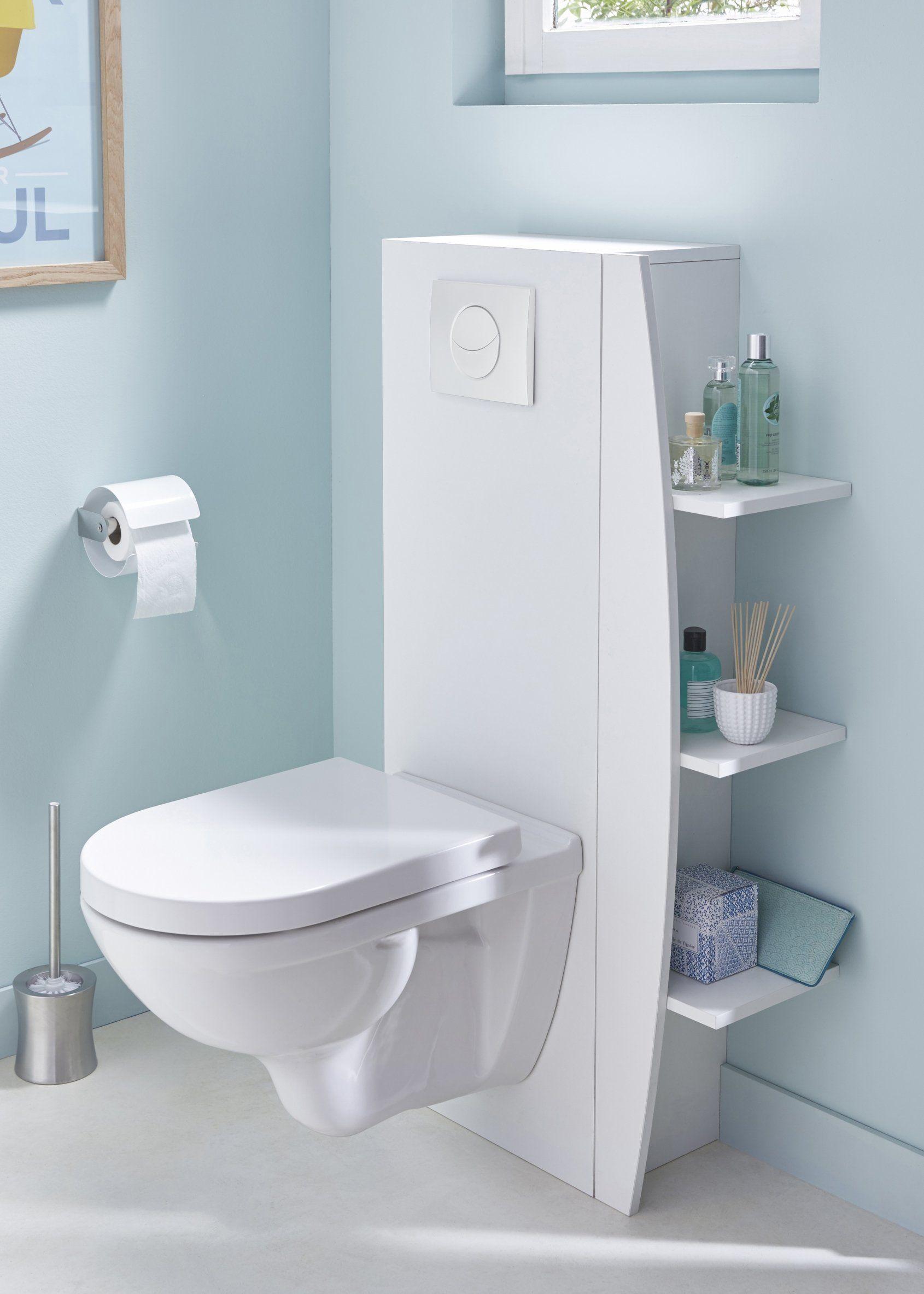 De 25 Idees Pour Decorer Vos Wc Amenagement Toilettes Wc Suspendu Deco Toilettes