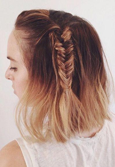 Long Bob Hair Advice Haar Styling Geflochtene Frisuren Fur Kurze Haare Styling Kurzes Haar