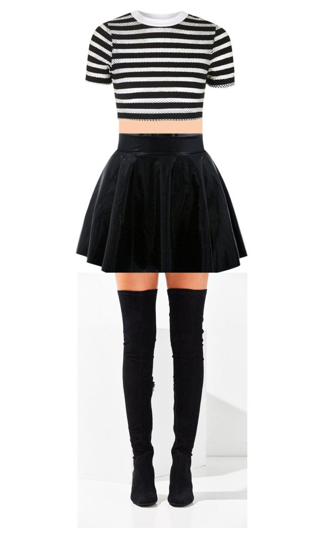 """anotha one"" by ixxy13 on Polyvore featuring Topshop and Jeffrey Campbell"