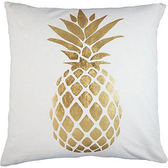 Elise & James Home Summer Dream Pineapple Pillow