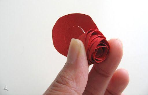 Лесна хартиена роза | Art and Blog