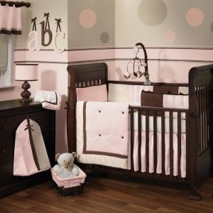 Baby Nursery Decor Braelyn S Bedding Set But We Did Dark Brown