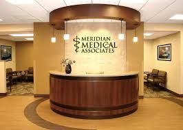 Charmant Medical Reception Area Design | Logo, Lighting, Tone