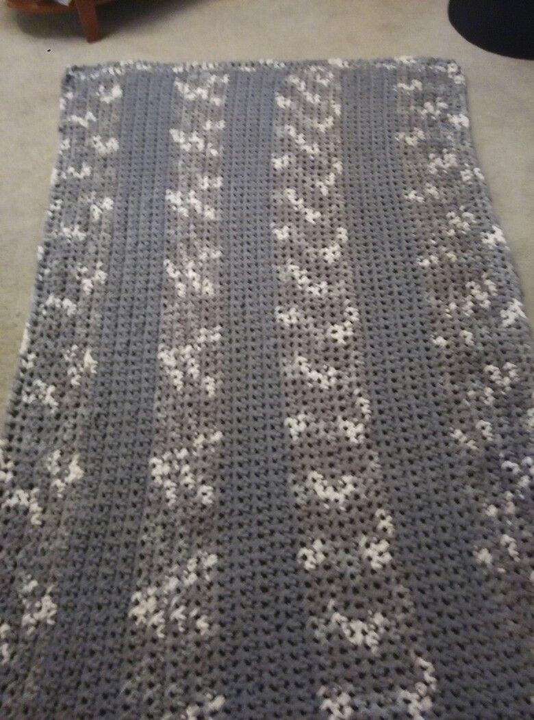 Bernat Blanket Big Ball Yarn-Silver Steel