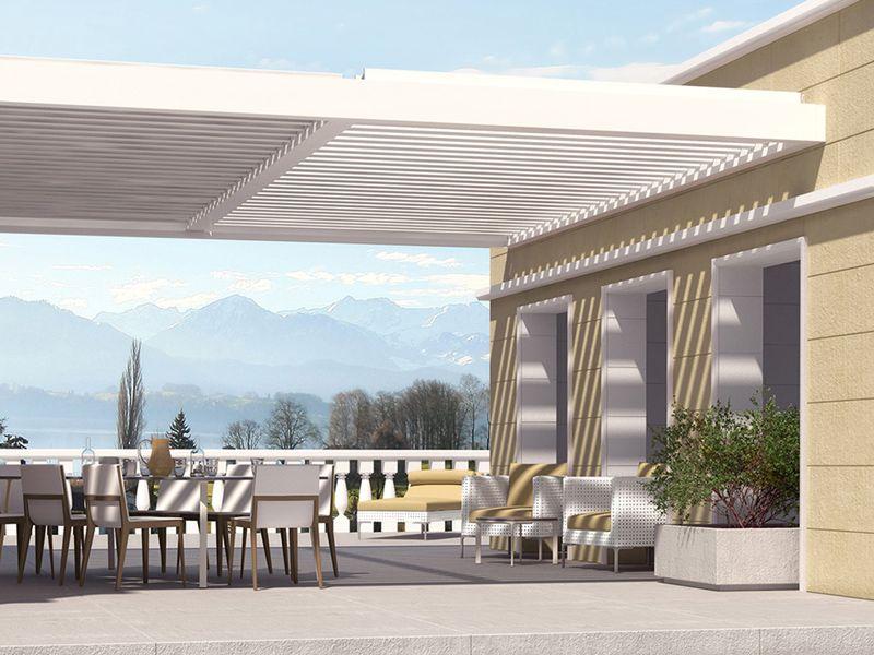Innovationen 2016 - Astano TR4520 - KLAIBER Markisen Terasse - markisen fur balkon design ideen