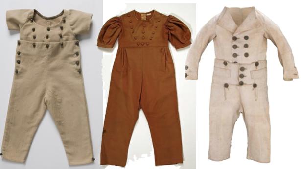 Regency fashion for children? Skeleton Suits! via Sharon Lathan