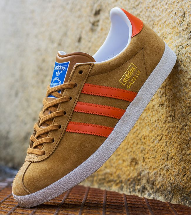 competitive price 12f46 c11a8 adidas Gazelle OG Wheat  Orange