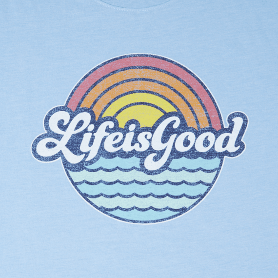 Life Is Good® Men's Sunny Waves Cool Tee #graphicprints