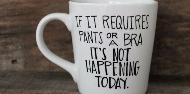 For the person who wakes up on the wrong side of the bed (if at all): | 15 Fitting Coffee Mugs For Every Person In Your Life