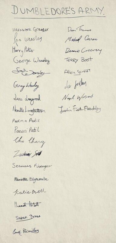 Harry Potter Liste Des Films : harry, potter, liste, films, Armée, Dumbledore, Harry, Potter, Patronus,, Script,