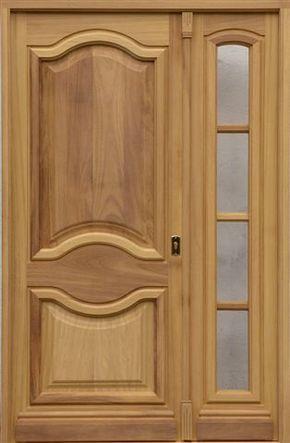 Puertas madera maciza puertas y ventanas becarte mi - Puertas madera y vidrio ...