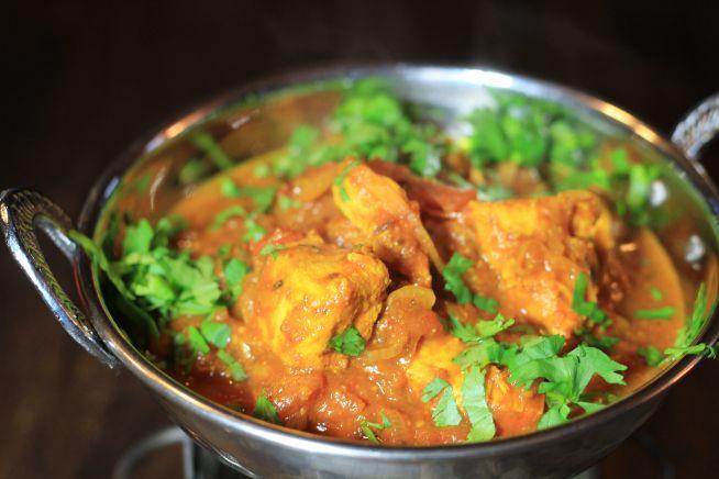 Chettinad Chicken indisches Hühnchen scharf Hari Ghotra Foodblog German Abendbrot