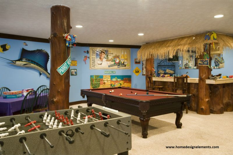 amazing parrothead party room game room decor gaming on video game room ideas for adults id=79891