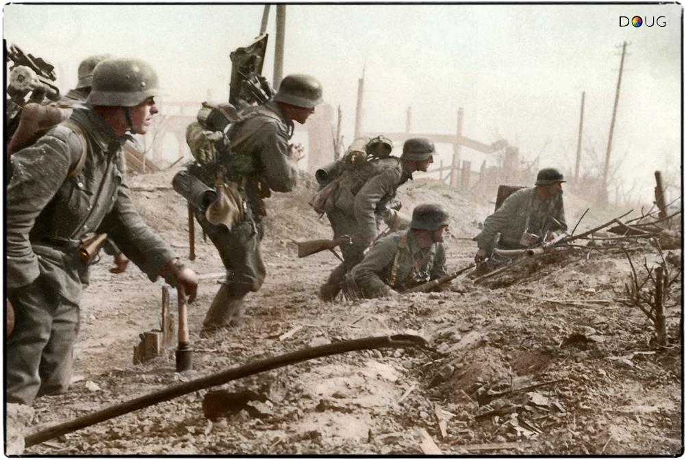 Die Schlacht Um Stalingrad