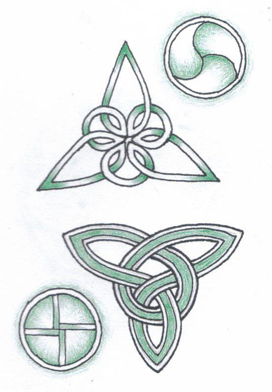 Celtic tri + cir | Con las manos ! | Pinterest | Celta, Símbolos y Nudo